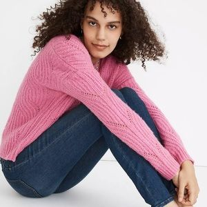 Charley Pullover Sweater in Heather Perunia Small
